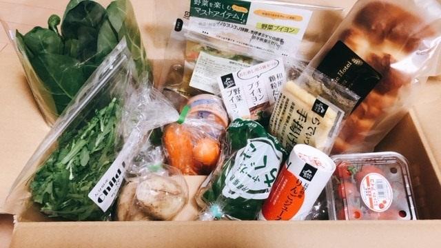 らでぃっしゅぼーやのおためし「おまかせ野菜ボックス」